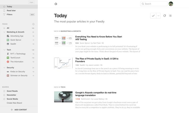 פידלי עומס מידע RSS